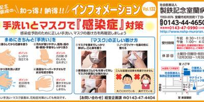 手洗いとマスクで『感染症』対策