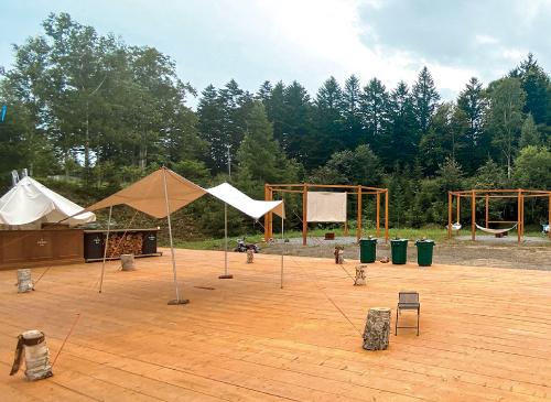 キャンプ 場 白老 ブウベツの森キャンプ場