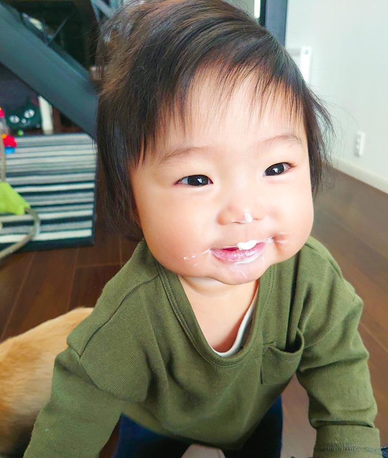 こんにちは赤ちゃん写真